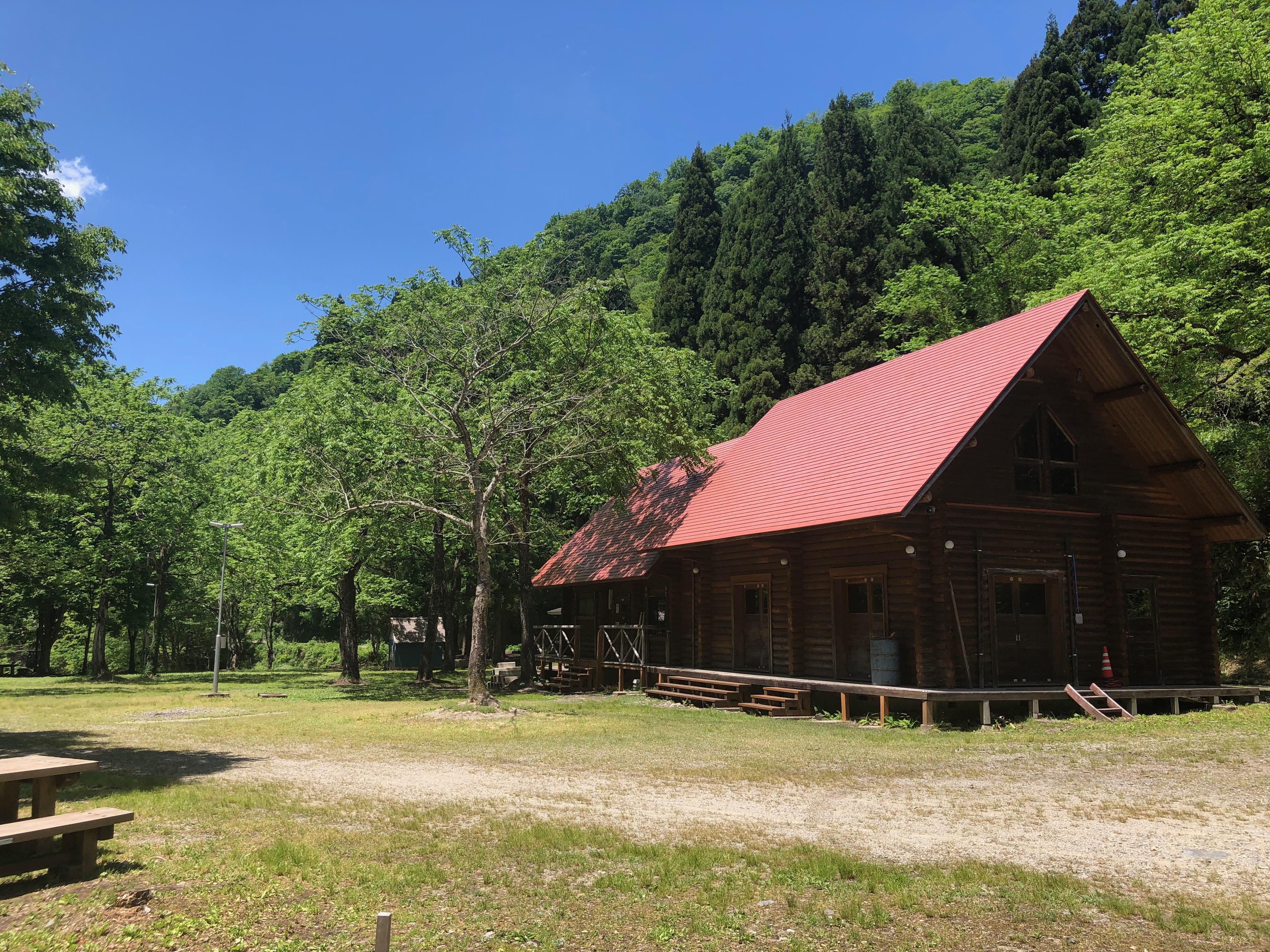 清流の郷瀬波川キャンプ場